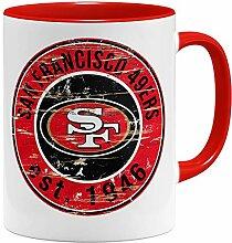 OM3® San Francisco Badge Tasse | Keramik Becher |