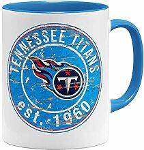 OM3® Tennessee Badge Tasse | Keramik Becher |