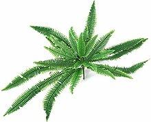 Omabeta Künstliche Farn Gras Kunststoff Pflanze