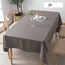 OMAI Europäische Einfache Baumwolle Leinen Solide