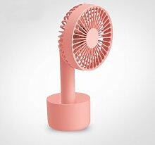 OME&QIUMEI Tragbarer Ventilator Handheld