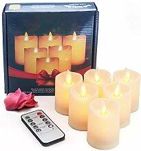 OMGAI LED Flammenlose Kerze mit