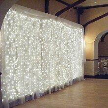OMGAI LED Lichtervorhang, 300 LEDS