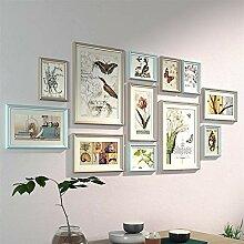 Ommda Fotorahmen Collage Mehrere Bilder Holz mit