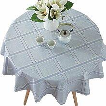 Ommda Tischdecke Wasserabweisend PVC Abwaschbar