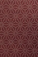 OMNIA Tapete in rot, metallics