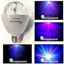 OmniaLaser OL-MFL3 LED-Lampe E27 motorisiert RGB