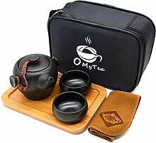 omytea tragbar Travel Tee-Set–100%
