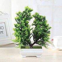 OMZHA Künstliche Bonsai gefälschte Pflanze Baum