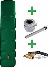 Ondis24 Basic Wandtank 300 L Regentonne Wassertank