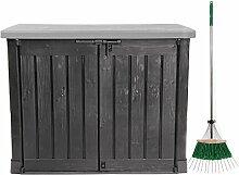 Ondis24 Keter Mülltonnenbox Gartenbox Gerätebox
