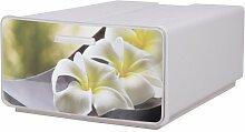 Ondis24 Schubladenbox Boxy Orchideen Utensilienbox