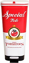 Ondis24 Treteimer Chic L Mülleimer Abfalleimer aus Kunststoff 45 Liter geruchsdicht (Tomato)