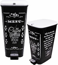 Ondis24 Treteimer Chic Set 25 L + 45 L Coffee