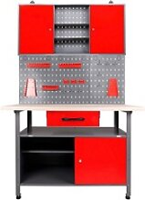 ONDIS24 Werkstatt-Set, (Set), inkl. Werkbank,