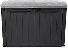 Ondis24 XXL Mülltonnenbox für 3 x 120 Liter