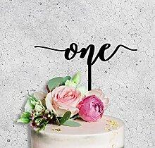 One Birthday Cake Topper