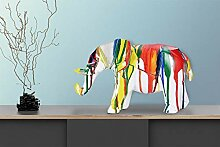 One Couture DEKOFIGUR Elefant SKULPTUR Statue