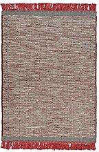 One Couture Eleganter Teppich mit Fransen Teppich