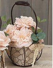 One Holiday Way Rustikales Blumengesteck mit