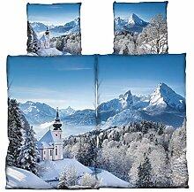one-home Partner Bettwäsche 135x200 cm