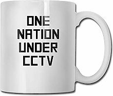 One Nation Tea Cup Novelty Gift for Lovers
