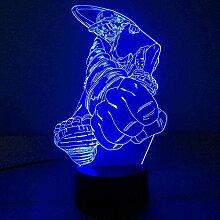 One Piece 3D Nachtlicht Optische Täuschung Lampe