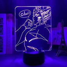 One Punch Man Garou Geschenk Nachtlicht Lampe, 3D