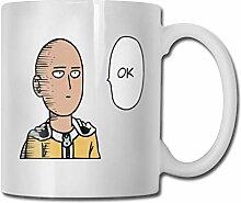 One Punch Man Saitama OK Lustige Kaffeetasse, 11