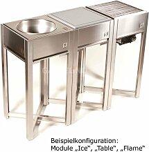 one Q Außenküche konfigurieren Edelstahl