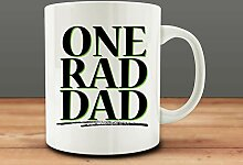 One Rad Dad Mug, Dad Mug 11 oz Tea Cup