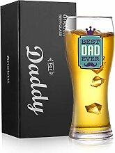 Onebttl Bierglas für Vater, Väter, Geschenke