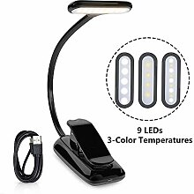 OneFire Clamp Book Light LED-Leselampe Touch