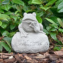 onefold–Frosch Welcome Schild/Garten