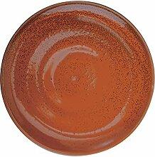 Oneida Cotta Porzellan-Teller, 29,2 cm, 12 Stück