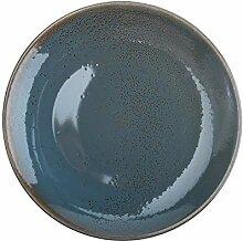 Oneida Dusk Porzellan-Teller, 29,2 cm, 12 Stück