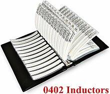 onesky-uk [0402] Induktor (1nh-270nh) sortiert Ordner lqg15hs Series 42Werte Booklet [2100PCS]