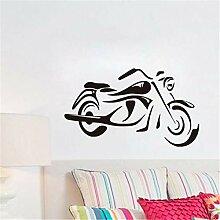 ONETOTOP Mode Motorrad Wandkunst Aufkleber Für
