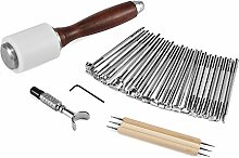 ONEVER 25PCS Leder Carving Tools Kit - Leder Druck