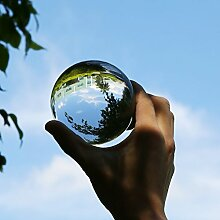 ONEVER Clear Crystal Glass Ball, Fotografie Kugel