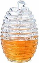 ONEVER Honig-Glas, Transparente