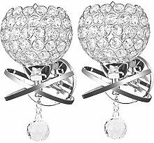 ONEVER, Modern Style Kristall Wandlampe Wandlampe