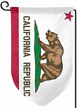 ONGH Bundesstaat Kalifornien 12,5 x 18 Zoll Garten