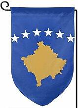 ONGH Flagge des Kosovo 12,5 x 18 Zoll Garten