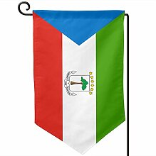 ONGH Flagge von Äquatorialguinea 12,5 x 18 Zoll