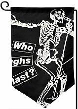 ONGH Hip Hop 12,5 x 18 Zoll Garten Flagge