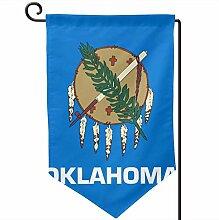 ONGH Oklahoma State 12,5 x 18 Zoll Garten Flagge