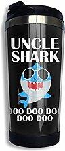 Onkel Shark 3 Edelstahl isolierte Becher