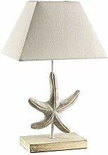 ONLI Tischlampe aus Holz Dekoration Stern mit