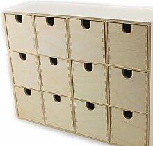 Online Attack Moppe IKEA Mini Kommode 12 Schublade